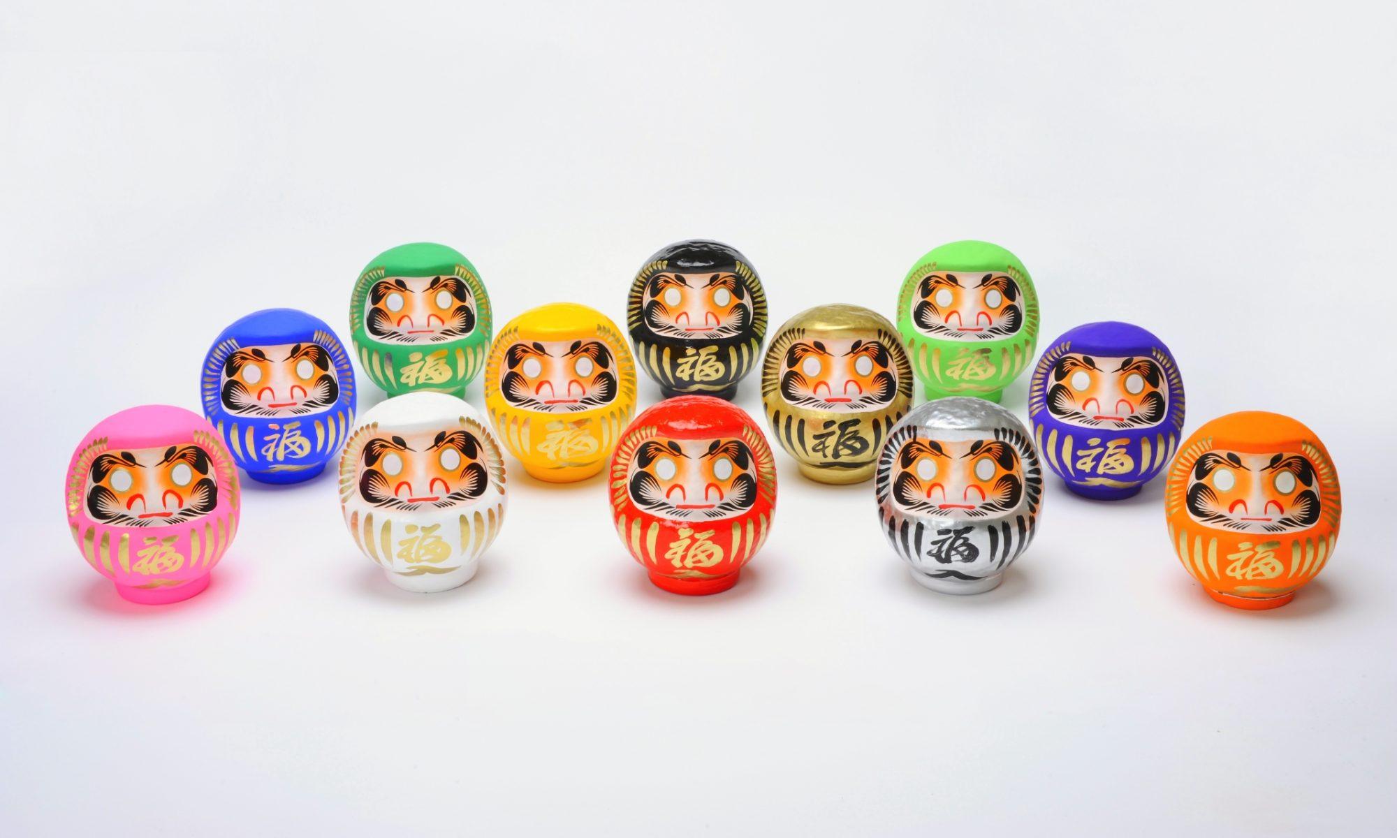 Poupée Daruma de la boutique NEXT à Takasaki, Japon